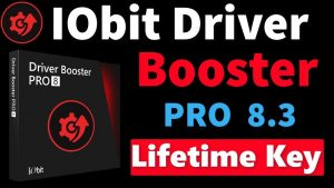 IObit Driver Booster Pro Crack 8.7.0.529  + Serial Key Latest 2021
