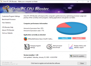 PC Booster Crack 5.19.15 With [Latest Version] Free Download