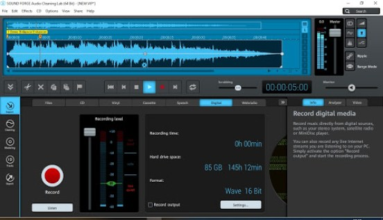 Magix Sound Forge Audio Cleaning Lab Crack v26.0.1.6 Free Download 2021