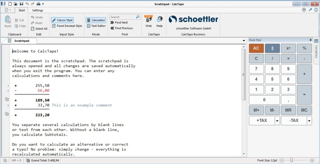 Schoettler CalcTape Pro Crack 6.0.4 with Free Download 2021