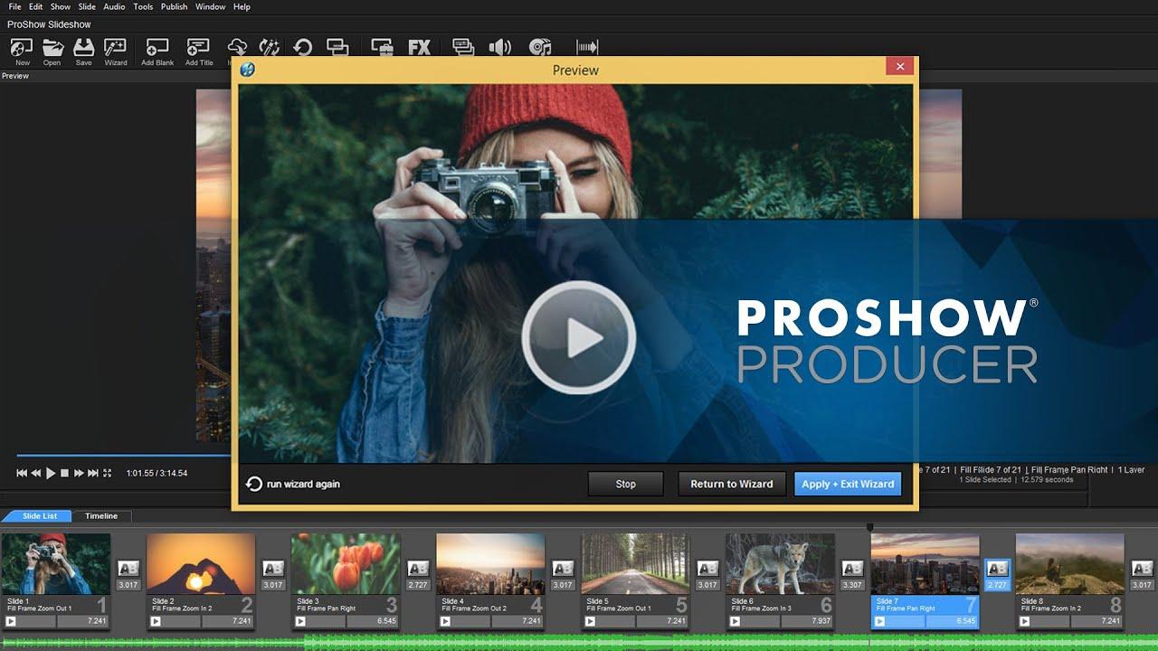 Proshow Producer Crack 10 With Full Keygen Registration Key 2021
