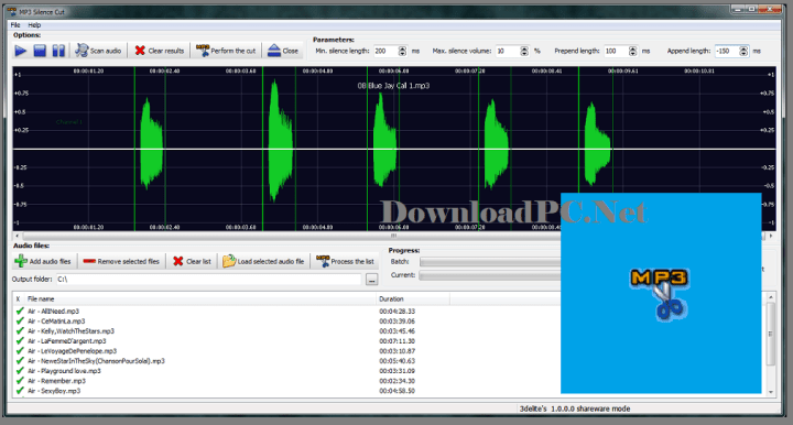 3delite MP3 Silence Cut Crack 3.4.5.3505 with Full Key Latest Free Download